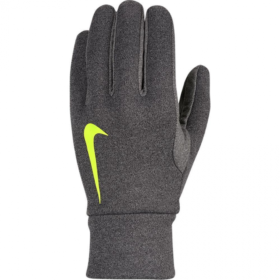 nike hyperwarm fieldplayer gloves handschuhe gs0321 071 grau. Black Bedroom Furniture Sets. Home Design Ideas
