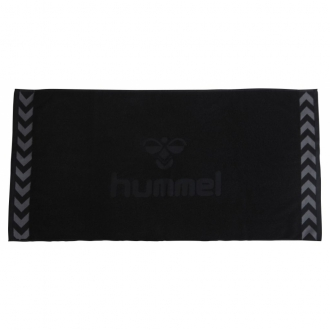 Hummel Old School Big Towel Handtuch schwarz 25-065-2001