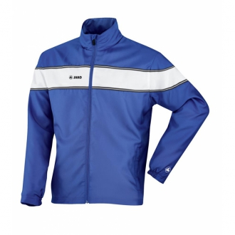 Jako Pr�sentationsjacke Player Damen royal/wei� 9868