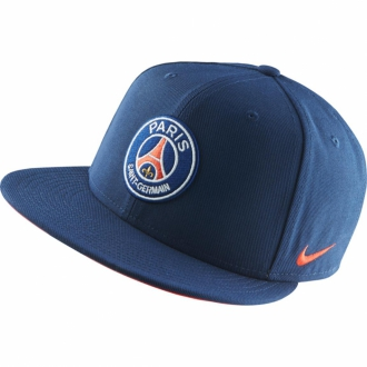 Nike PSG True Cap Paris Saint Germain M�tze blau