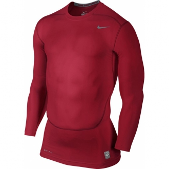 Nike Pro Core Compression LS 2.0 Funktionsshirt rot...