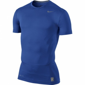 Nike Pro Core SS Compression 2.0 Shirt dunkelblau 449792-494