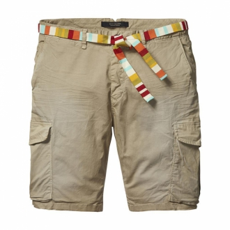 Scotch & Soda Basic Cargo-Shorts sand