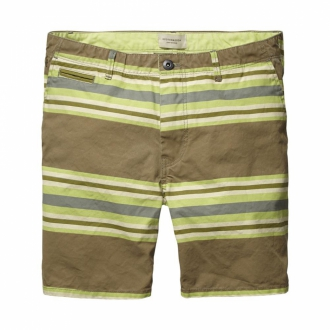 Scotch & Soda Canvas Shorts Herren gestreift
