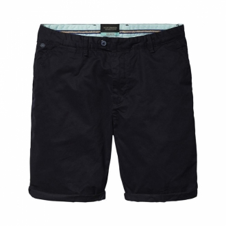 Scotch & Soda Chino-Shorts aus Baumwolle dunkelblau