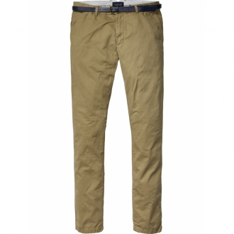 Scotch & Soda Chino Stuart Slim Fit khaki