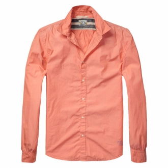 Scotch & Soda Crispy light weight oxford shirt Herren...