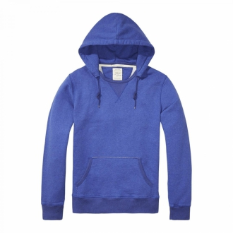 Scotch & Soda Home Alone Hoodie blau