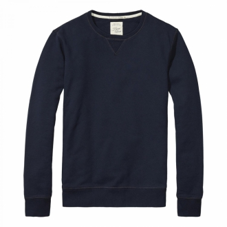 Scotch & Soda Home Alone Sweater dunkelblau