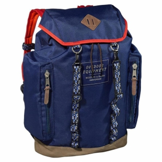 Scotch & Soda Mountaineers Nylonrucksack blau