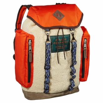 Scotch & Soda Mountaineers Teddy-Rucksack orange