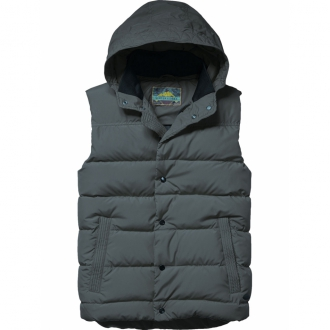 Scotch & Soda Quilted bodywarmer with hood Steppweste