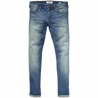 Scotch & Soda Ralston Scrape and Shift Jeans blau