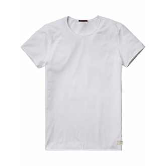 Scotch & Soda T-Shirt mit Rundhals Herren wei�