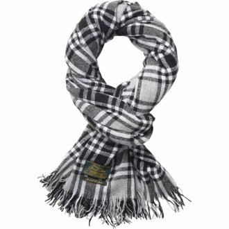 Scotch & Soda Woolen blanket check scarf Herren Schal