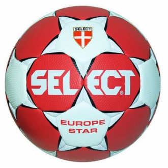 Select Europe Star Handball rot/wei�