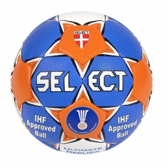 Select Ultimate Replica Handball blau/orange/wei� Gr.2