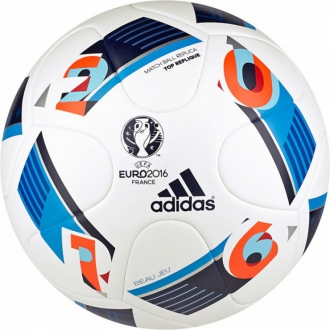 adidas Top Replique x-Mas Trainingsball EURO 2016 EM Gr��e 5