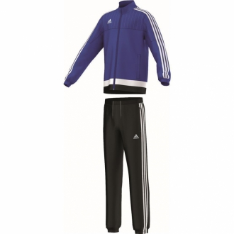adidas Tiro 15 Presentation Suit Youth - blau