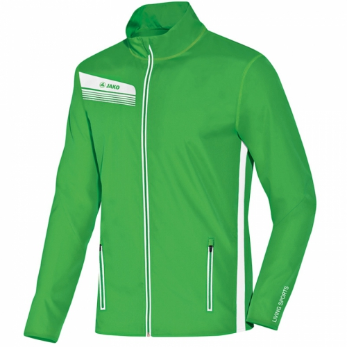 Jako Jacke Athletico 9825 - Gr��e 140 - soft green/wei�