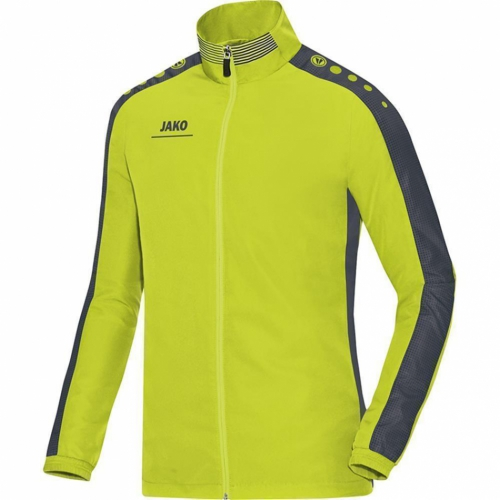 Jako Pr�sentationsjacke Striker 9816 - Gr��e 38 - lime/anthrazit