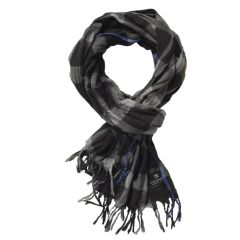 Scotch_and_Soda_Rocker_scarf_Schal_schwarz_grau