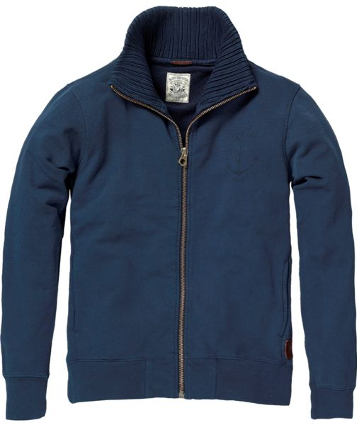 Scotch_&_Soda_Sweatjacke_blau