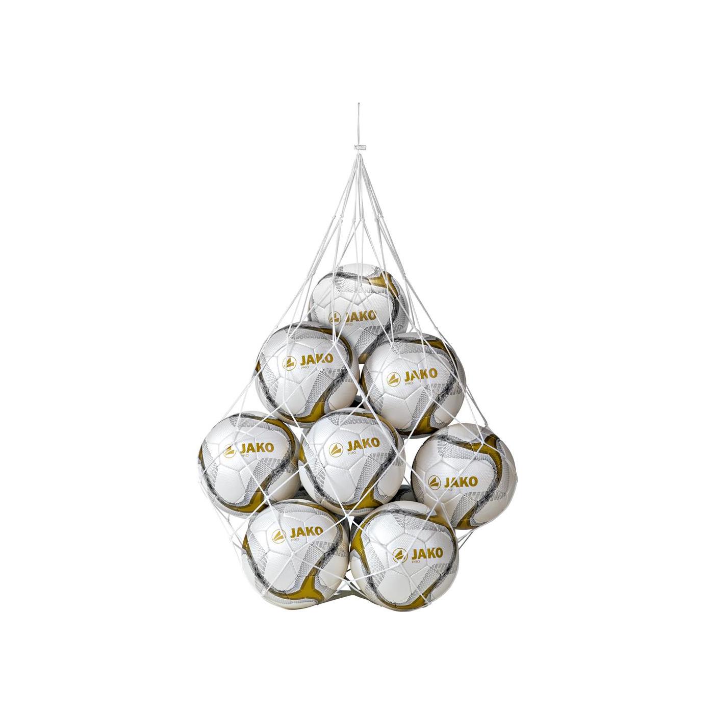 Jako Ballnetz für 10 Bälle 2390 - weiß