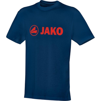 Jako T-Shirt Promo 6163 - Größe 4XL - nightblue/flame
