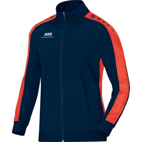 Jako Polyesterjacke Striker 9316 - Größe XL - nightblue/flame
