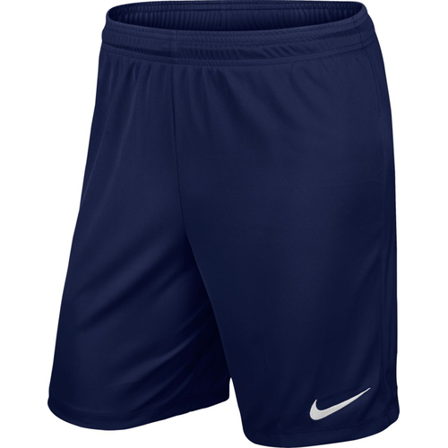 Nike Park ll Knit Short  - Größe S - midnight navy/(white)