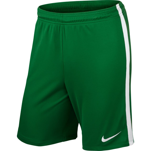 Nike League Knit Short - Größe L - pine green/white