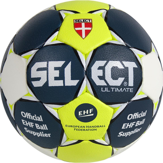 Select Ultimate Handball blau/gelb/weiß Gr.3