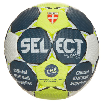Select Ultimate Replica Handball blau/gelb/weiß Gr.3