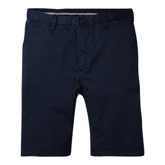 Scotch & Soda Basic Chino-Shorts - dunkelblau - Größe 33