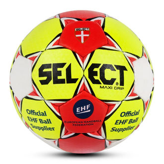 Select Maxi Grip Handball gelb/rot Gr.2