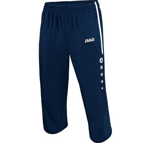 Jako 3/4 Trainingsshort Active Kinder Gr.140 marine/weiß 8395