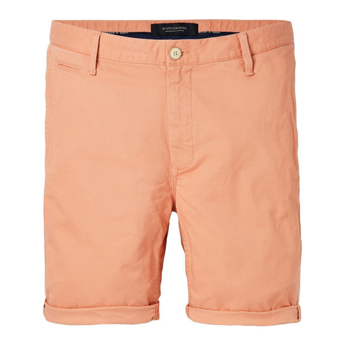 Scotch & Soda Chino Shorts - orange - Größe 34