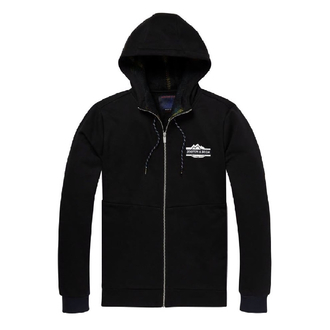 Scotch & Soda Kapuzenjacke schwarz