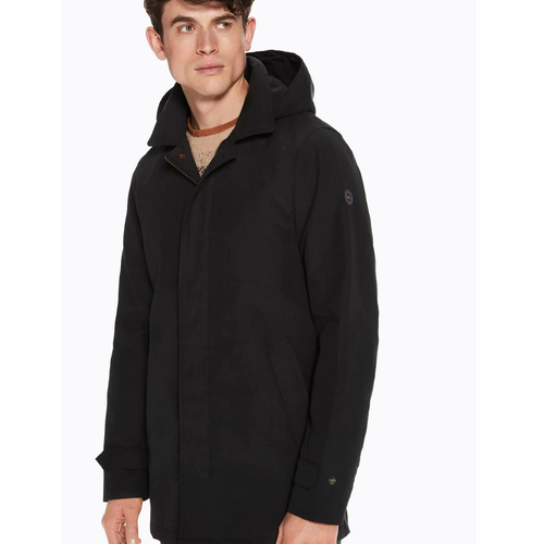 Scotch & Soda klassicher Parka schwarz