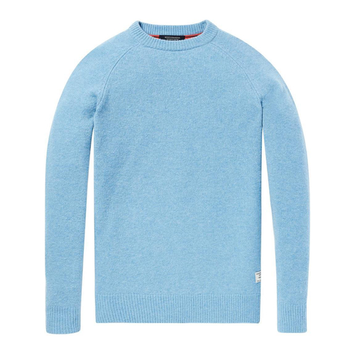 Scotch & Soda Strickpullover hellblau