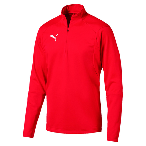 Puma LIGA Training 1/4 Zip Top Trainingstop - rot - Größe L
