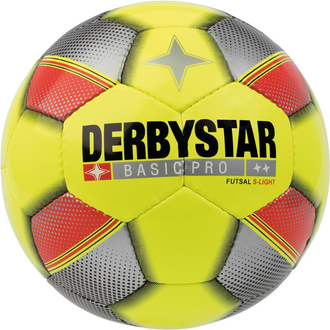 Derbystar Basic Pro S-Light Futsal Trainingsball gelb