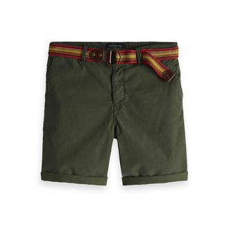 Scotch & Soda Chino-Shorts dunkelgrün