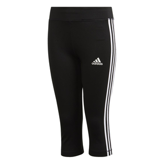 adidas YG Equipment 3-Streifen 3/4 Tight Kinder - schwarz...