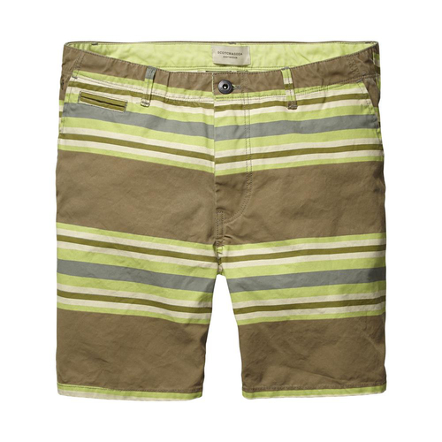 Scotch & Soda Canvas Shorts Herren Gr.36 gestreift