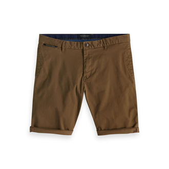 Scotch & Soda Basic Chino-Shorts braun