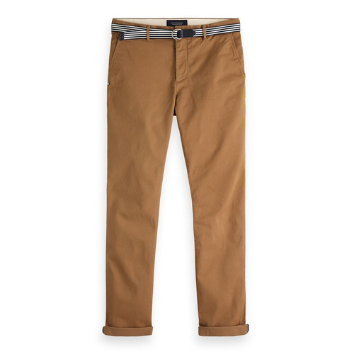 Scotch & Soda Chino Hose Stuart camel