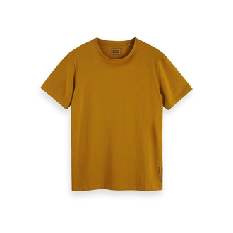 Scotch & Soda Basic T-Shirt hellbraun