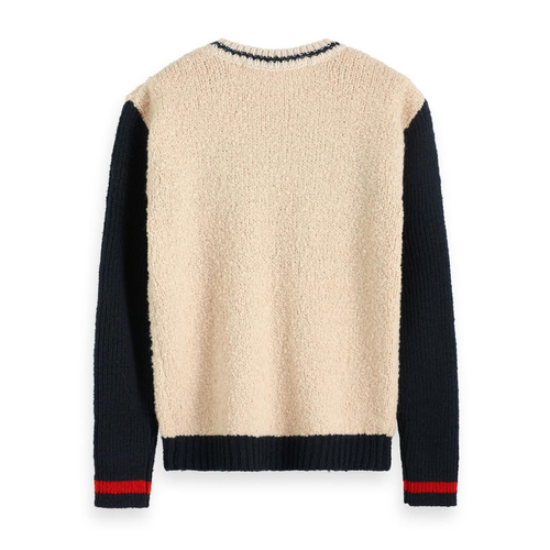 Scotch & Soda Pullover aus Teddy-Strick